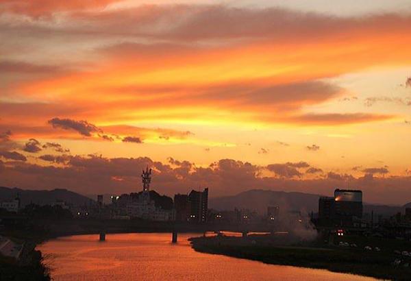 水質日本一 清流五ヶ瀬川