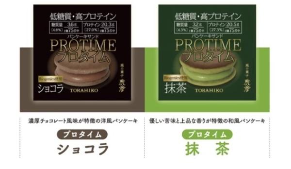 【新発売】低糖質・高プロテイン パンケーキサンド「プロタイム」ネット販売スタートのお知らせ