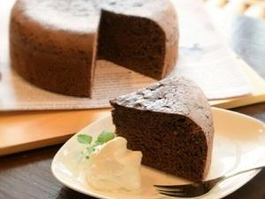低糖質 ガトーショコラ6号サイズ
